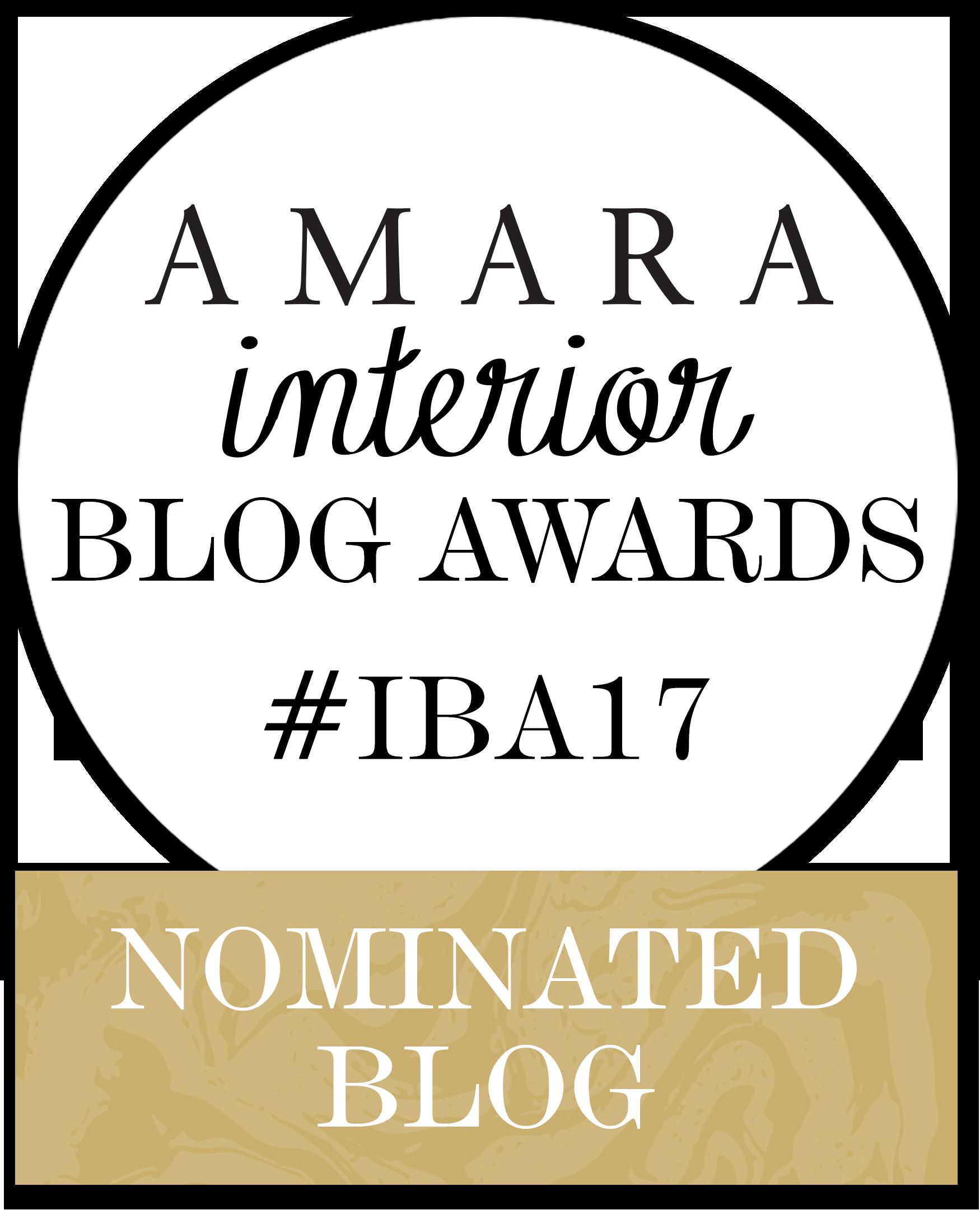 Nominated Blog Amara Interior awards