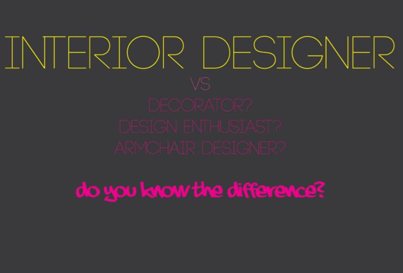 Interior designer versus the client