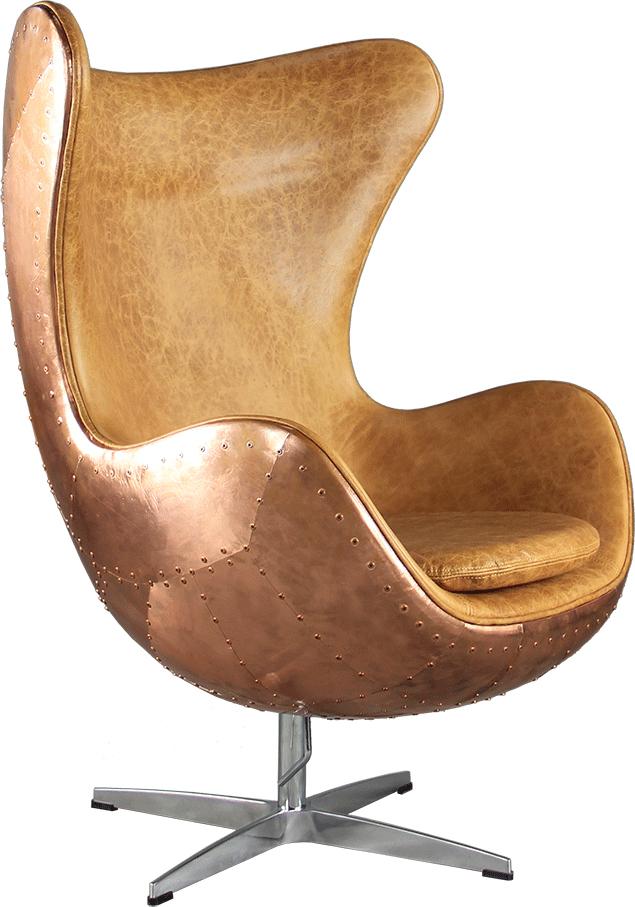 Arne Jacobson Vintage Copper Egg Chair